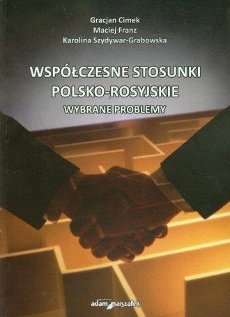 Współczesne stosunki polsko-rosyjskie. - okładka książki