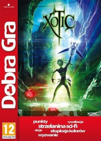 Xotic - pudełko programu