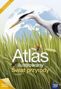 Atlas ilustrowany. Świat przyrody - okładka książki