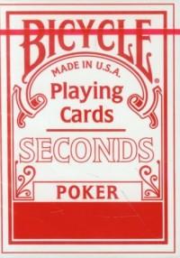 Bicycle Seconds Poker. Talia kart - zdjęcie zabawki, gry