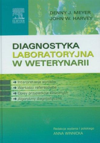 Diagnostyka laboratoryjna w weterynarii - okładka książki