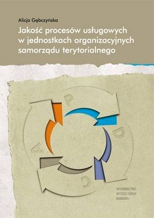 Jakość procesów usługowych w jednostkach - okładka książki