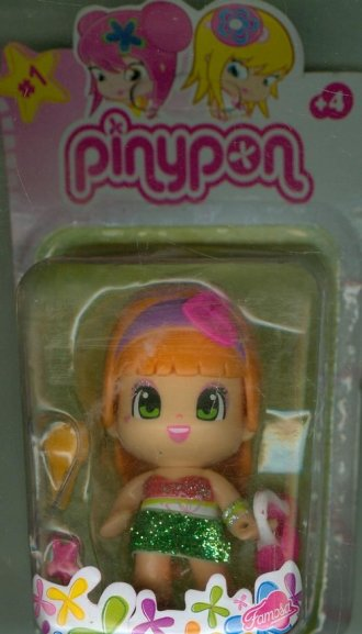 Laleczka Pinypon (pomarańcz z sercem) - zdjęcie zabawki, gry