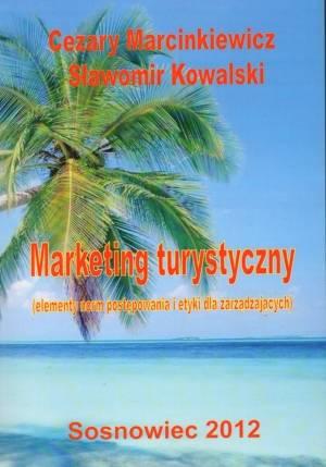 Marketing turystyczny. Elementy - okładka książki