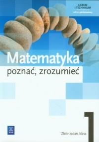 Matematyka. Poznać, zrozumieć. - okładka podręcznika
