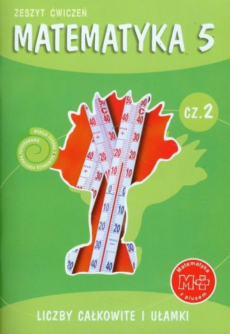 Matematyka z plusem. Klasa 5. Szkoła - okładka podręcznika