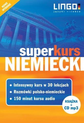 Niemiecki. Superkurs. Kurs + Rozmówki - okładka podręcznika
