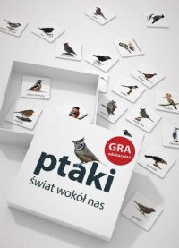 Ptaki. Świat wokół nas. Gra edukacyjna - zdjęcie zabawki, gry