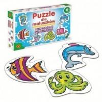 Puzzle dla maluszków. Podwodne - zdjęcie zabawki, gry