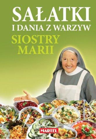 Sałatki i dania z warzyw siostry - okładka książki