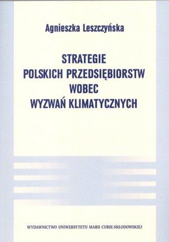 Strategie polskich przedsiębiorstw - okładka książki