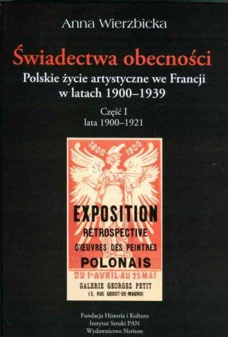 Świadectwa obecności. Polskie życie - okładka książki