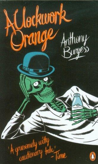 A Clockwork Orange - okładka książki
