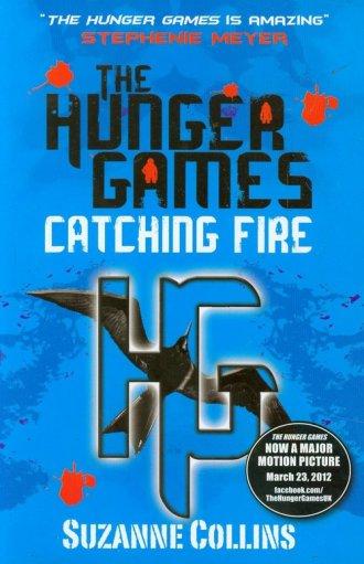 Catching Fire - okładka książki