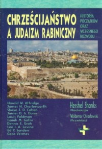 Chrześcijaństwo a judaizm rabiniczny - okładka książki