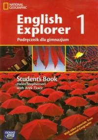 English Explorer 1. Gimnazjum. Podręcznik (+ CD) - okładka podręcznika
