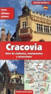 Kraków przewodnik po symbolach - okładka książki