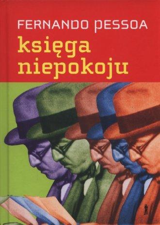 Księga niepokoju Bernarda Soaresa, - okładka książki