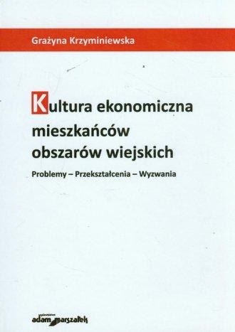 Kultura ekonomiczna mieszkańców - okładka książki