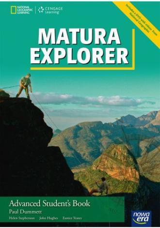 Matura Explorer Advanced Students - okładka podręcznika