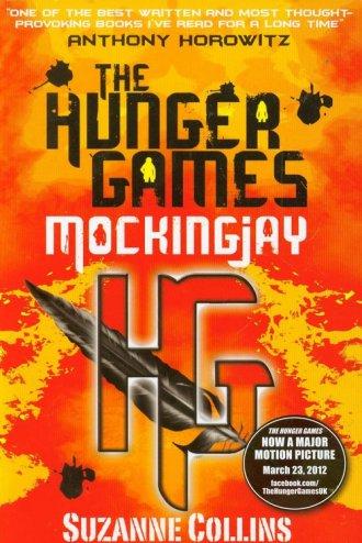Mockingjay - okładka książki