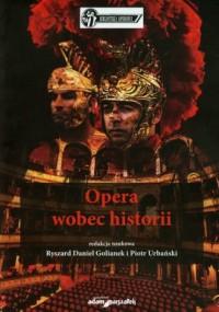 Opera wobec historii - okładka książki