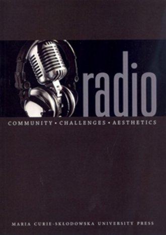 Radio Community Challenges Aesthetics - okładka książki
