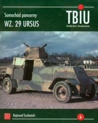 Samochód pancerny W. 29 URSUS - okładka książki
