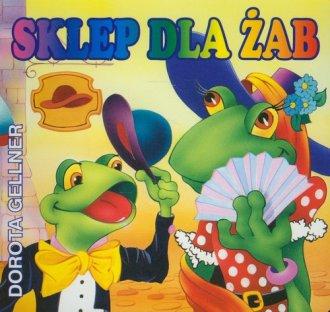 Sklep dla żab - okładka książki