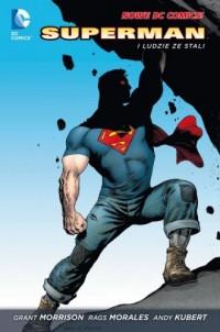 Superman. Tom 1. Superman i ludzie - okładka książki