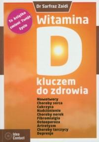 Witamina D kluczem do zdrowia - okładka książki