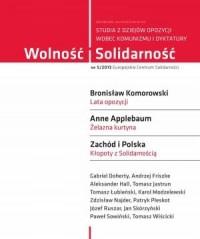 Wolność i Solidarność 5/2013. Studia z dziejów opozycji wobec komunizmu i dyktatury - okładka książki