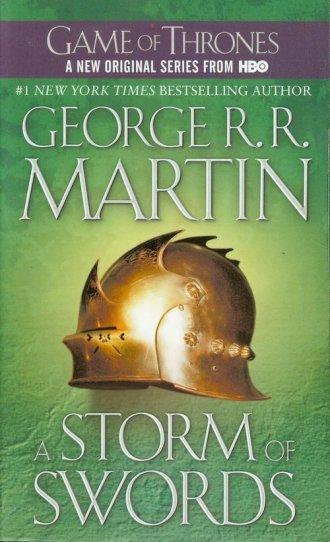 A Storm of Swords - okładka książki