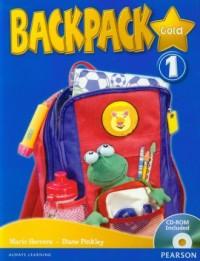 Backpack Gold 1 (+ CD-ROM) - okładka podręcznika