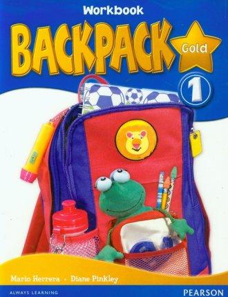 Backpack Gold 1. Workbook(+ CD) - okładka podręcznika