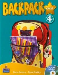 Backpack Gold 4 (+ CD) - okładka podręcznika