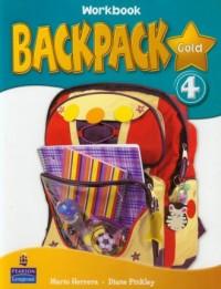 Backpack Gold 4. Workbook (+ CD) - okładka podręcznika
