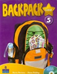 Backpack Gold 5 (+ CD) - okładka podręcznika