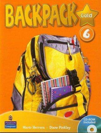 Backpack Gold 6 (+ CD) - okładka podręcznika