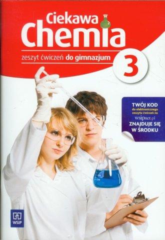 Ciekawa chemia. Gimnazjum. Zeszyt - okładka podręcznika