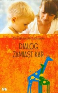 Dialog zamiast kar - okładka książki