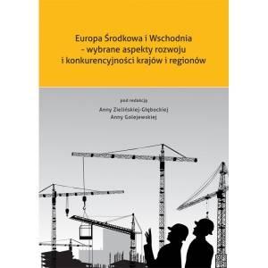 Europa Środkowa i Wschodnia - wybrane - okładka książki
