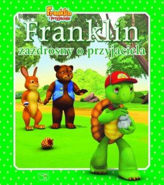 Franklin zazdrosny o przyjaciela - okładka książki