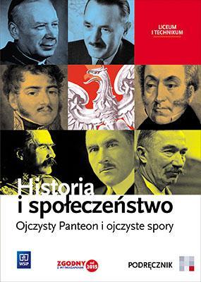 Historia i społeczeństwo. Ojczysty - okładka podręcznika