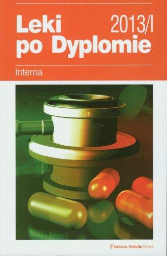 Leki po Dyplomie 2013. Interna - okładka książki