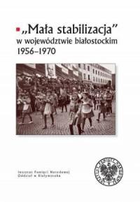 Mała stabilizacja w województwie - okładka książki