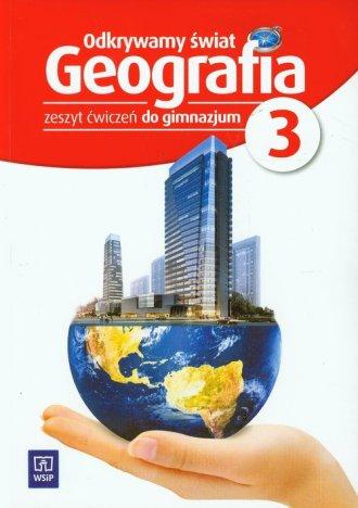 Odkrywamy świat. Geografia. Gimnazjum. - okładka podręcznika