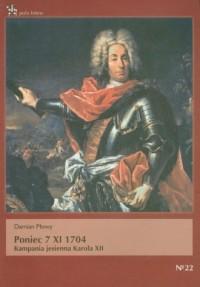 Poniec 7 XI 1704. Kampania jesienna Karola XII - okładka książki