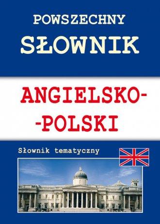 Powszechny słownik angielsko-polski. - okładka podręcznika