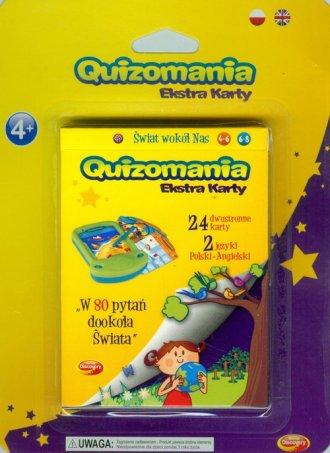 Quizomania. Ekstra karty. Świat - zdjęcie zabawki, gry